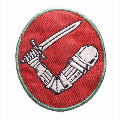 NÁŠIVKA AČR 7x8cm Posádkové velitelství Praha