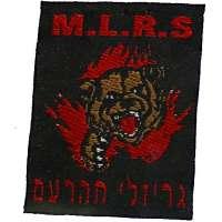 NÁŠIVKA Izrael ČrP 38x50mm 791 ČER