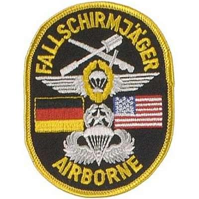 NÁŠIVKA BW  Fallschirmjäger  80x100mm