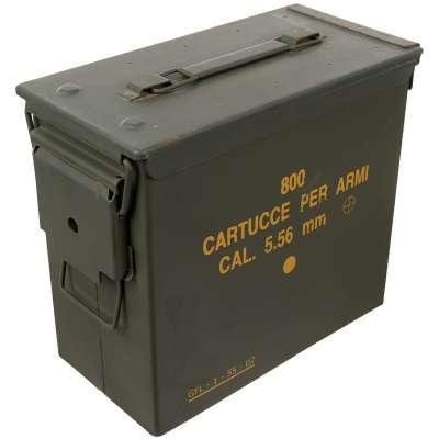 BEDNA US NA MUNICI PA19 CAL 5,56mm 29,5x15,5x25,5cm OLIV