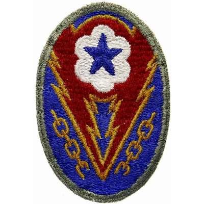 NÁŠIVKA US 2.SV 60x80mm Army Service Forces orig