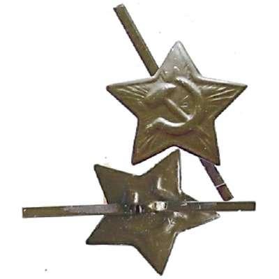 ODZNAK SSSR 22mm HVĚZDA STŘEDNÍ POLNÍ