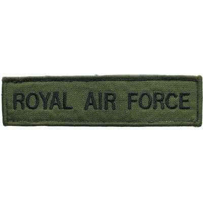 NÁŠIVKA BRIT 4R 145x35mm ROYAL AIR FORCE OLIV