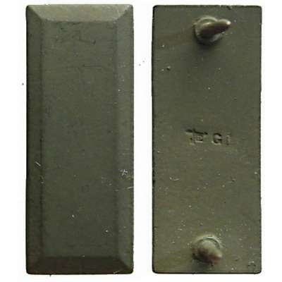 ODZNAK US hodnost 30X10mm 2ND LIEUTENANT 1ks OLIV