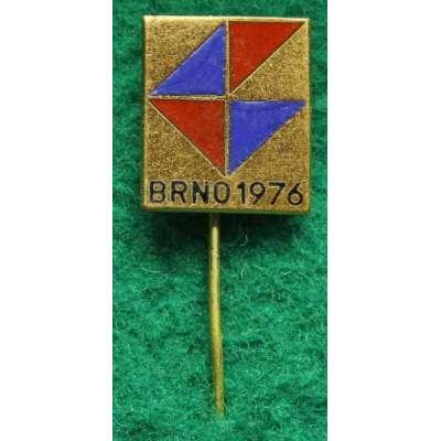 ODZNAK BRNO BVV 1976 17x20mm