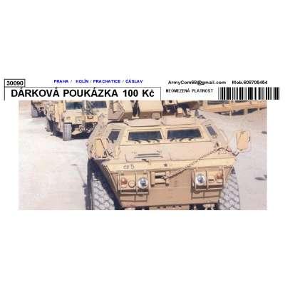 DÁRKOVÁ POUKÁZKA 100 Kč