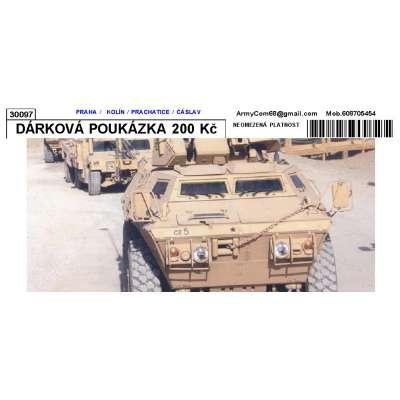 DÁRKOVÁ POUKÁZKA 200 Kč