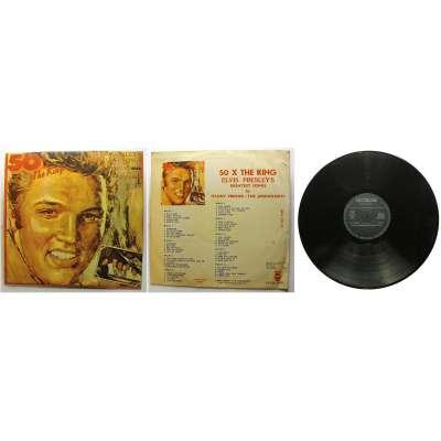 DESKA VINYL LP ELVIS PRESLEYS 50x THE KING1984 ELECTRECORD