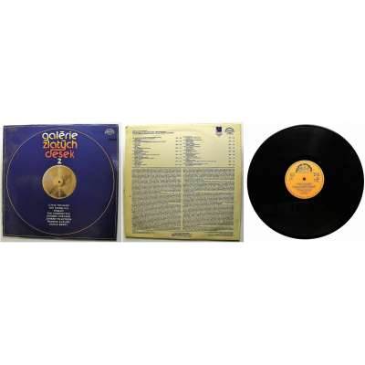 DESKA VINYL LP GALERIE ZLATÝCH DESEK 2 1985 SUPRAPHON PERFEKTNÍ STAV