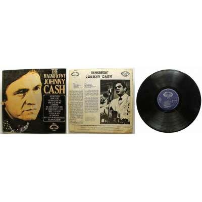 DESKA VINYL LP JOHNY CASH THE MAGNIFICENT1972 HALLMARK RECORD orig LONDON