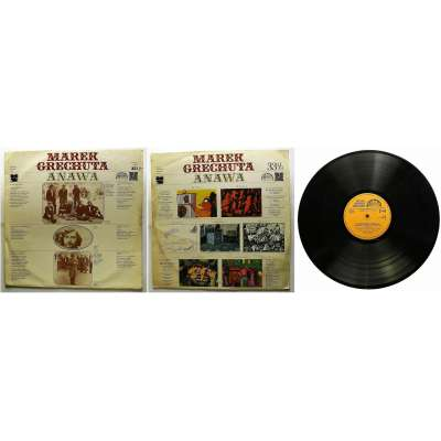 DESKA VINYL LP MAREK GRECHUTA ANAWA 1974 SUPRAPHON