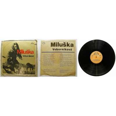 DESKA VINYL LP MILUŠKA VOBORNÍKOVÁ1972 SUPRAPHON