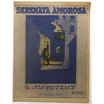 NOTY Josef Petzný SERENATA AMOROSA 1932 (2 strany)