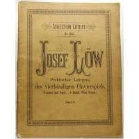NOTY VERLAG Henri Litoffs Braunschweig Jos.Low PRAKTISCHER LEHRGANG DES 4-HANDIGEN CLAVIERSPIELS um 1900 (47 stran)
