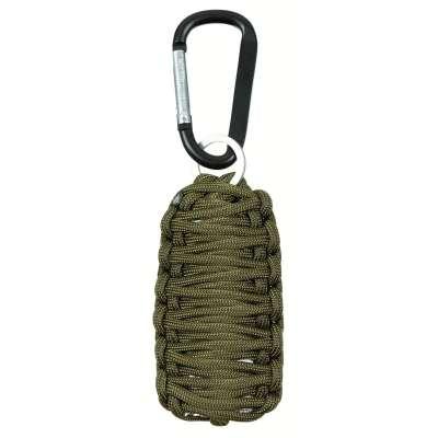 SURVIVAL SET Parachute Cord 10 dílů OLIV