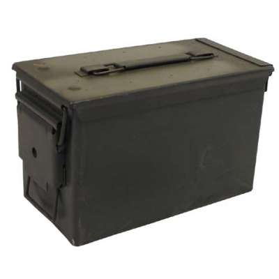 BEDNA US NA MUNICI M2A1 Cal 50/5,56 29,5x15,5x18cm orig OLIV
