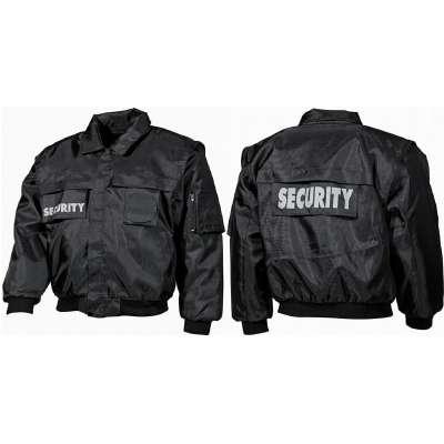 BLŮZA Security ČERNÁ