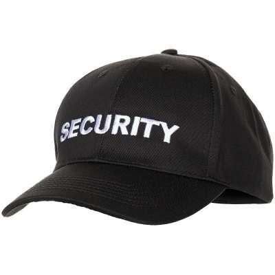 ČEPICE US BASEBALL SECURITY ČERNÁ