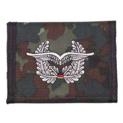 PENĚŽENKA BW Luftwaffe FLECKTARN