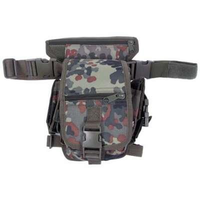 POUZDRO Hip Bag SECURITY 10 FOCHŮ FLECKTARN