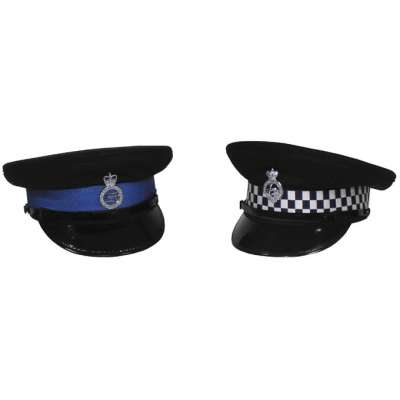ČEPICE BRIT POLICIE S ODZNAKEM orig