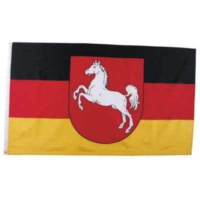 VLAJKA NĚMECKO Niedersachsen 90x150cm
