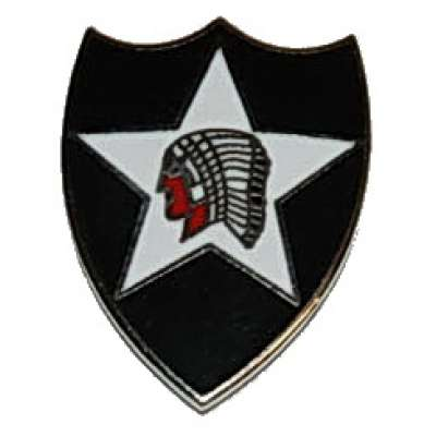 ODZNAK US ARMY 2ND INFANTRY DIVISION