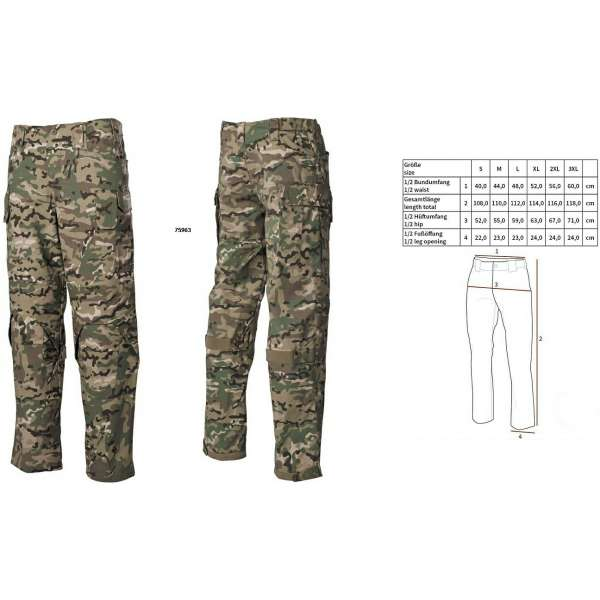 KALHOTY Mission NYCO RIPSTOP MULTICAM