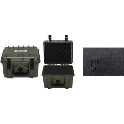 BOX PLAST 26,7x23,9x17,6cm VODOTĚSNÝ OLIV