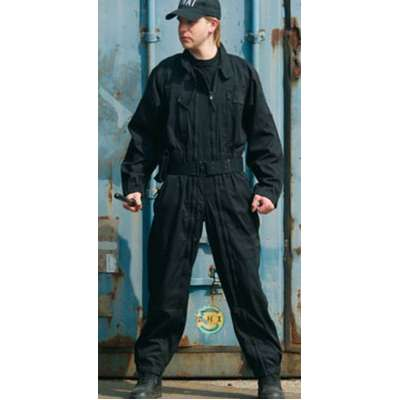 KOMBINÉZA SECURITY SWAT černá
