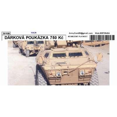 DÁRKOVÁ POUKÁZKA 750 Kč