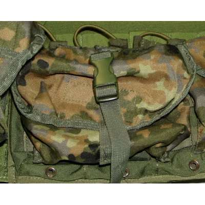 TAŠKA MEDICAL MOLLE FLECKTARN