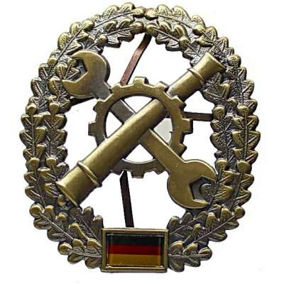ODZNAK BW ČEPICOVÝ 45x55mm INSTANDSETZUNG