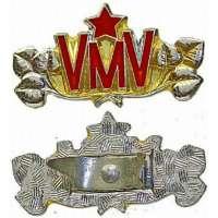 ODZNAK ČSSR VMV 30X15mm STŘÍBRNÝ
