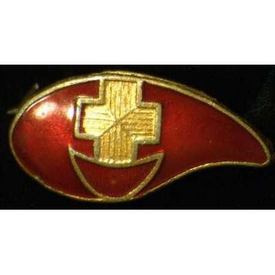 ODZNAK SSSR ČERVENÝ KŘÍŽ Dárce Kapka krveI va 04